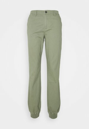 ONLMADEA TIGER LIFE PANT - Trousers - deep lichen green