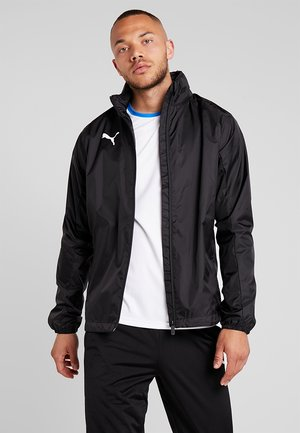 LIGA RAIN CORE - Hardshell jacket - black/white