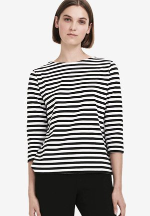 ILMA - Long sleeved top - white/black