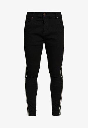 DANI ALVES ROPE - Jeans slim fit - black
