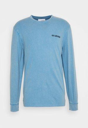 CASUAL LONG SLEEVE TEE - Camiseta de manga larga - faded blue