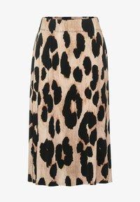 Street One - ROCK MIT MUSTER - A-line skirt - beige - 3