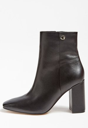 ADELIA  - High heeled ankle boots - schwarz