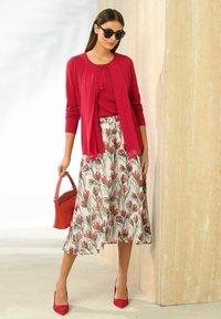 Alba Moda - A-line skirt - weiß,rot - 2