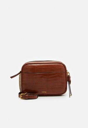 CROSSBODY BAG AKUA - Schoudertas - camel