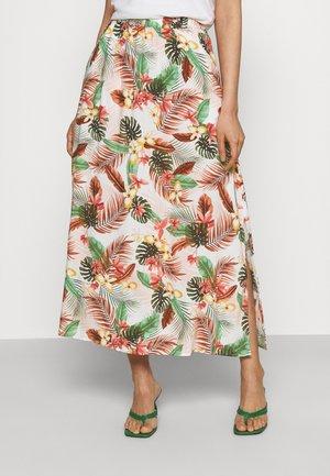 VMSIMPLY EASY SKIRT - Maxi skirt - birch/selma