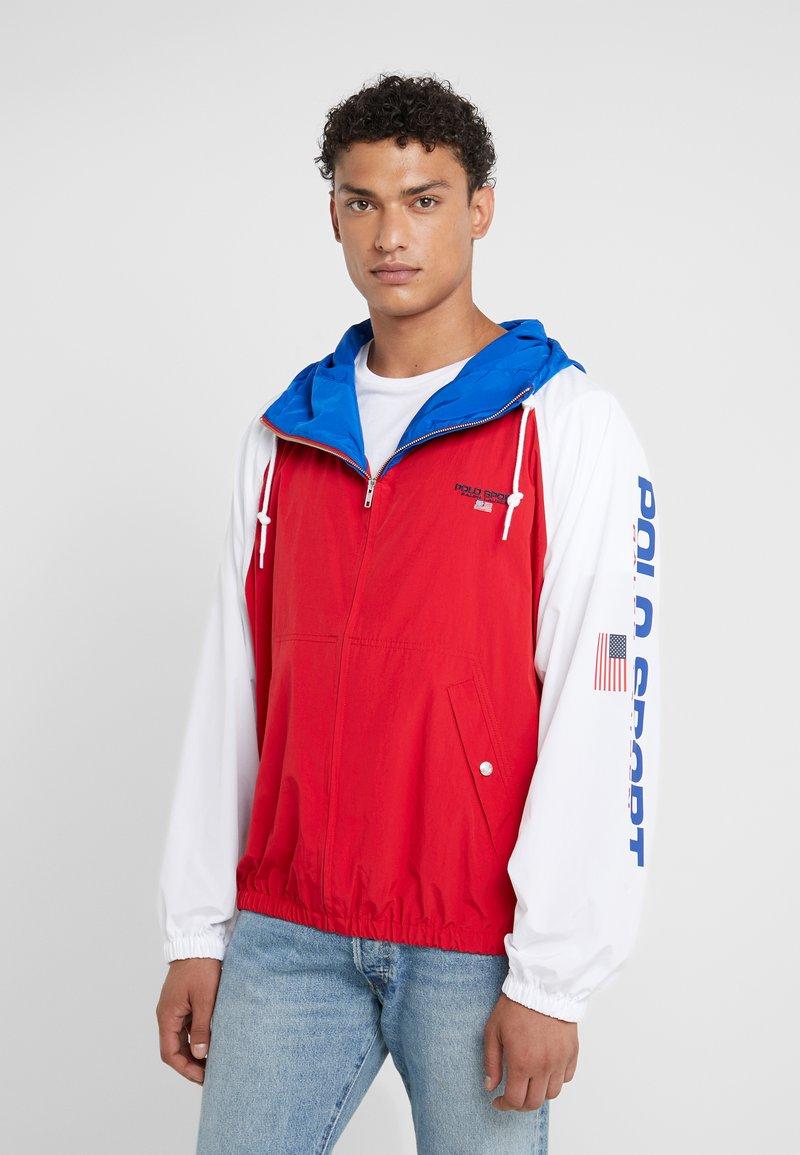 Polo Ralph Lauren - BUCKET - Summer jacket - red/white