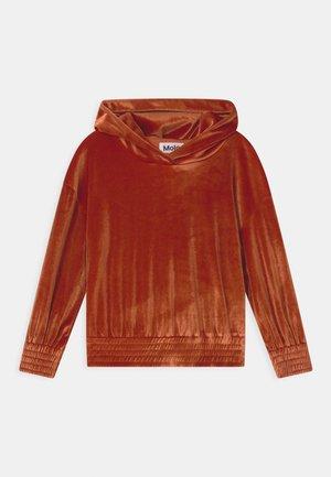 MONELLE - Sweatshirt - burnt brick