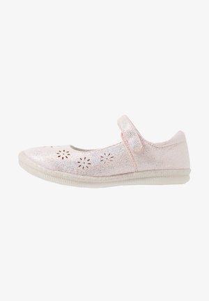 ELF MAGIC  - Ankle strap ballet pumps - rosa