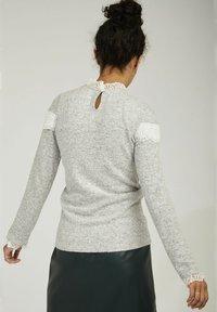 NAF NAF - Long sleeved top - grey - 2