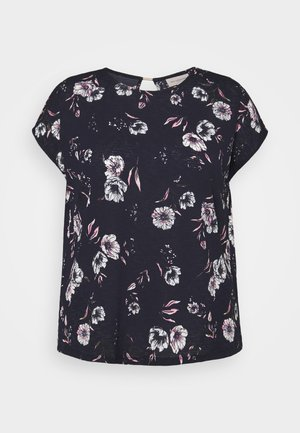 CARPELLY O NECK - T-shirt con stampa - night sky