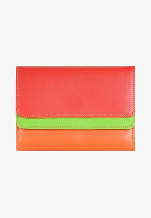DOUBLE FLAP - Portefeuille - red