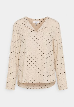 BYHIALICE - Long sleeved top - cement