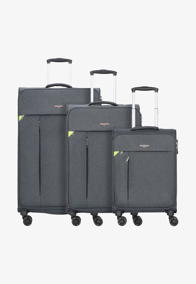 3 SETS - Luggage set - dark grey