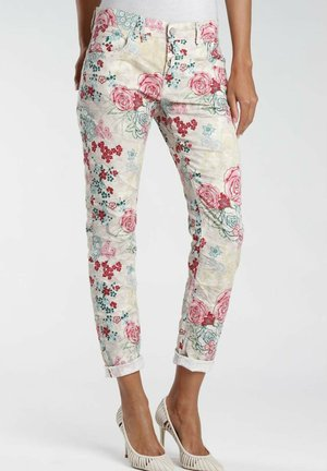 Trousers - cotton white