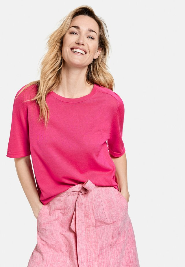 T-shirt basic - rasberry