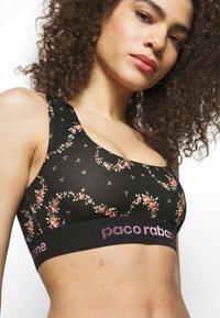 Paco Rabanne - Top - black/ pink - 4