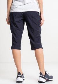 Luhta - ARVIDILA  - Outdoor shorts - dark blue - 2
