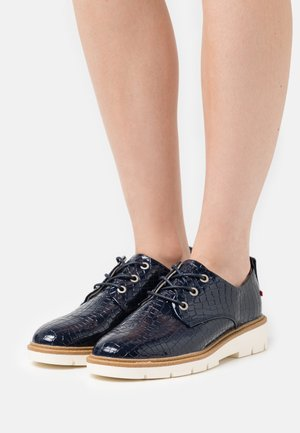 LACE UP - Šněrovací boty - dark blue