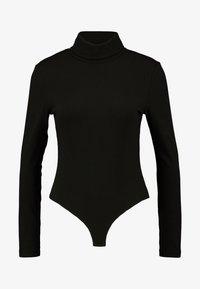 Zign Petite - Long sleeved top - black - 3