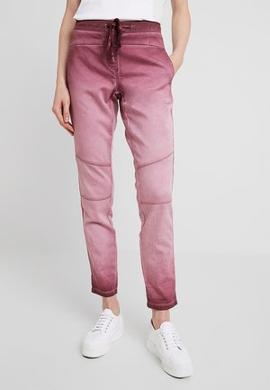 FREIZEIT - Trousers - deep burgundy