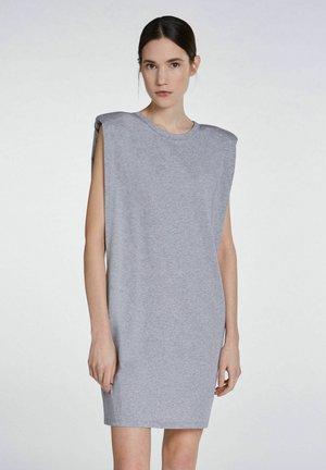 Jersey dress - light grey