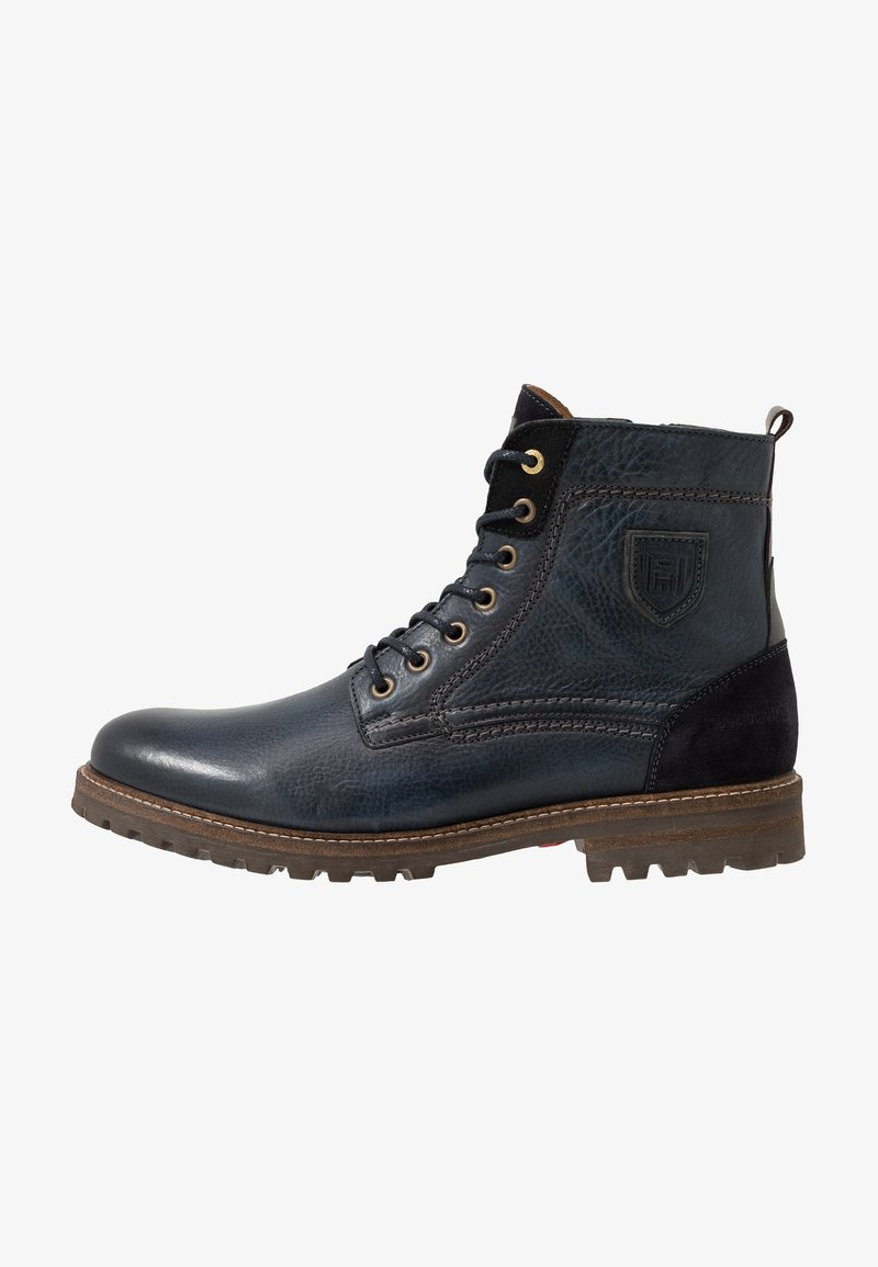 Pantofola d'Oro - PONZANO UOMO HIGH - Lace-up ankle boots - dress blues