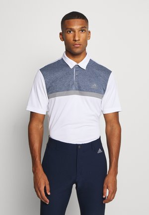 PERFORMANCE SPORTS GOLF SHORT SLEEVE  - Piké - white/collegiate navy melange