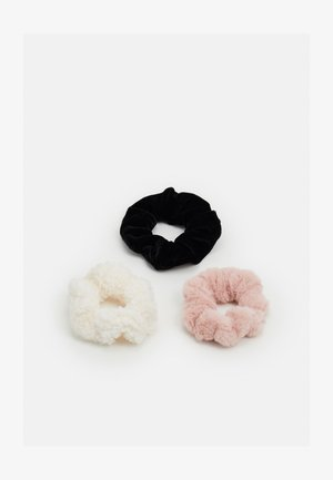 SCRUNCHIES 3 PACK - Hair styling accessory - pink