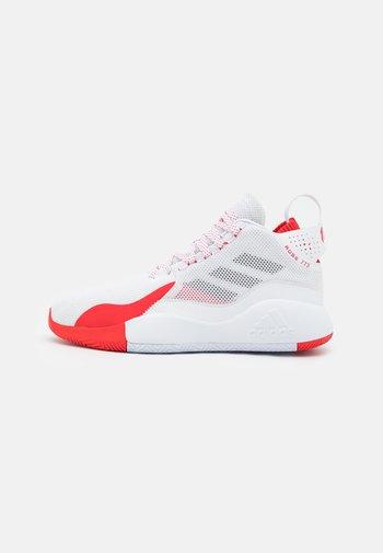 D ROSE 773 2020 - Chaussures de basket - footwear white/silver metallic/vivid red