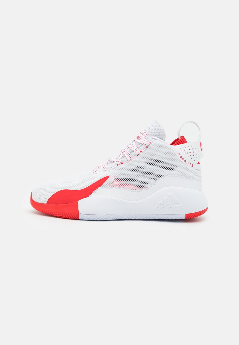 adidas Performance - D ROSE 773 2020 - Basketball shoes - footwear white/silver metallic/vivid red