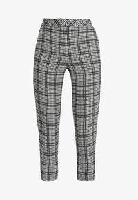 MONO CHECK TROUSERS - Trousers - mono