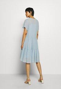 Stella Nova - LING - Day dress - dusty silver blue - 2