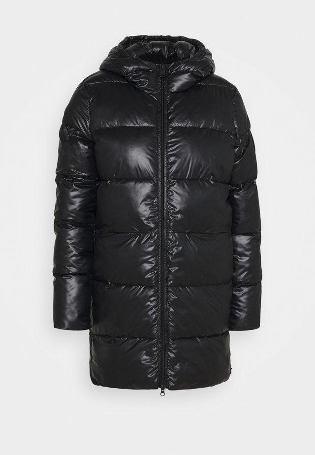 MARANGU SHINE COAT WOMAN - Classic coat - black