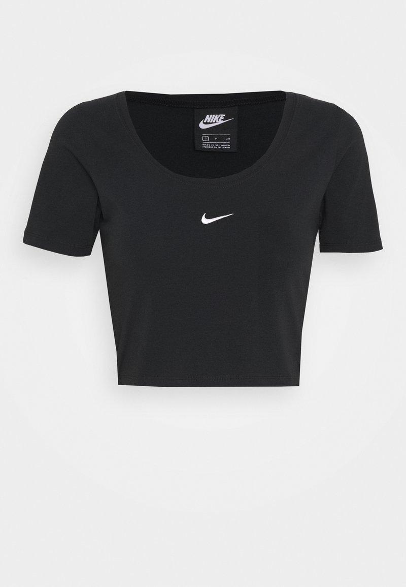 Nike Sportswear - CROP - Print T-shirt - black