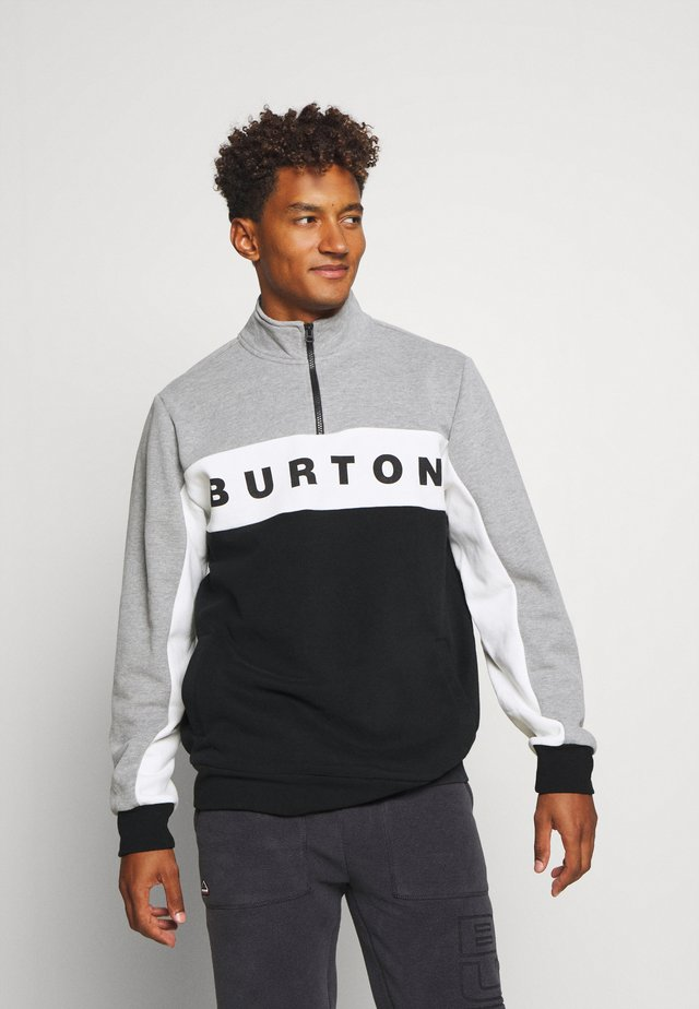 LOWBALL 1/4 ZIP - Sudadera - grey