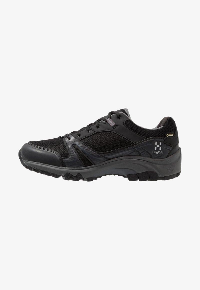 Haglöfs - OBSERVE EXTENDED GT MEN - Hiking shoes - true black