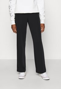ONLY - ONLKOBE PULL UP PANT - Trousers - black - 0