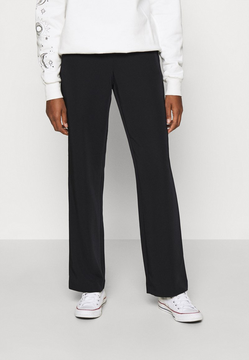 ONLY - ONLKOBE PULL UP PANT - Trousers - black