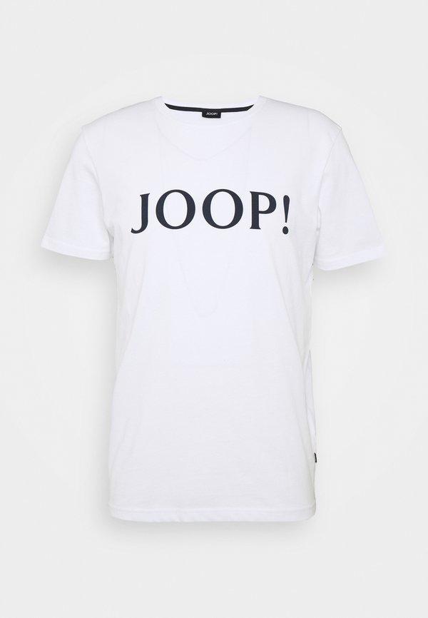 JOOP! ALERIO - T-shirt z nadrukiem - white/biały Odzież Męska FREP