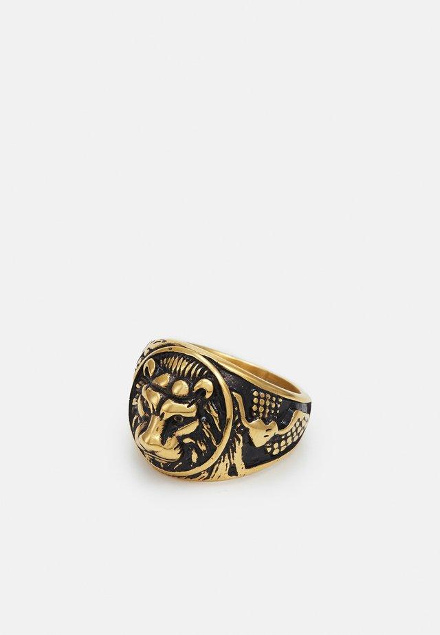 LIONHEAD SIGNER UNISEX - Anello - gold-coloured