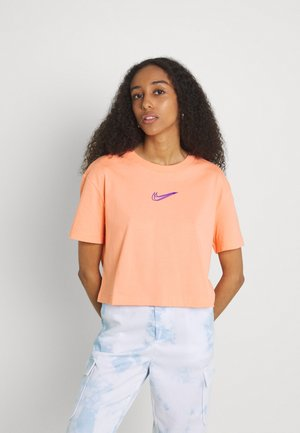 CROP TEE  - T-shirt imprimé - crimson bliss