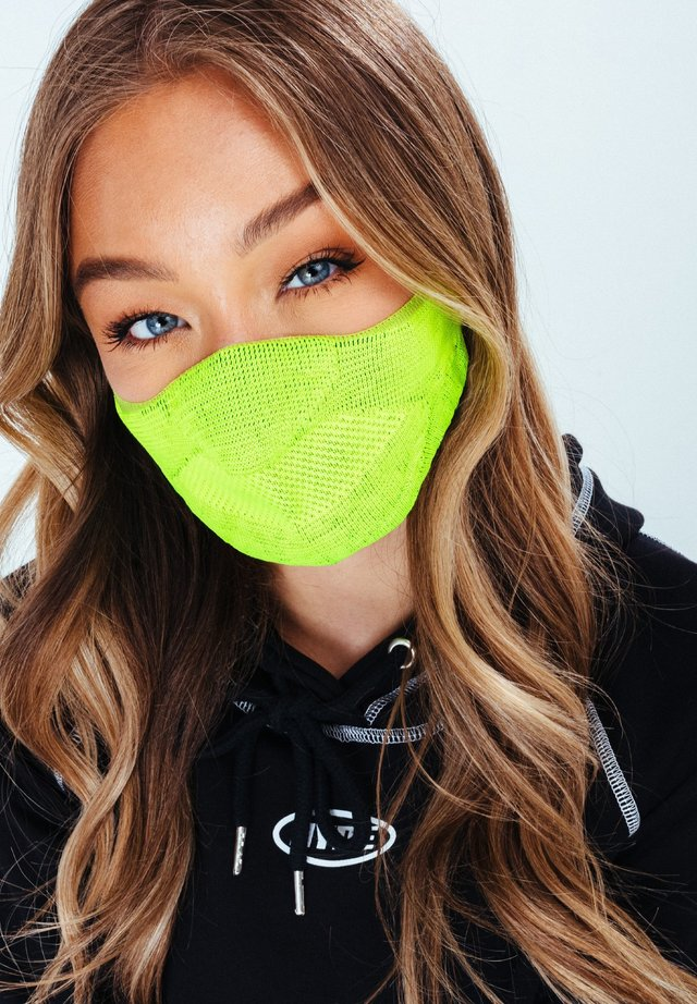 Community mask - lime
