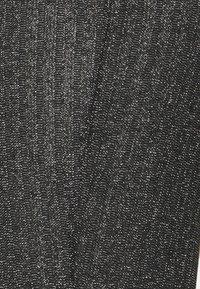 Topshop Petite - GLITTER FLARE - Broek - black - 5