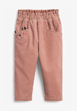 CORD CHARACTER - Trousers - pink