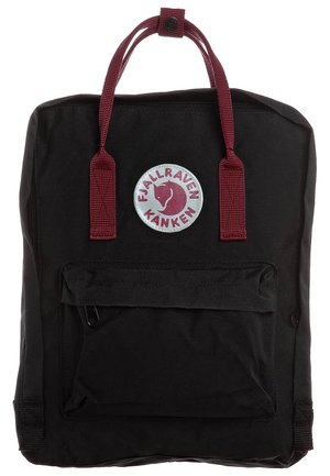 KÅNKEN - Rucksack - black/ox red