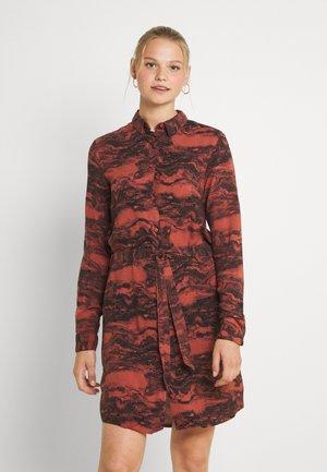 IHVERA - Day dress - mahogany