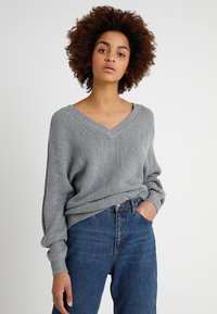TWINTIP - Jumper - mottled grey - 0