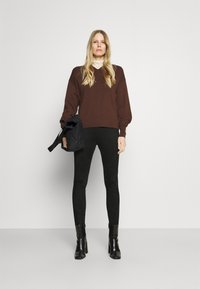 Opus - ELBINA - Leggings - Trousers - black - 1