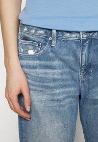 G-Star - KATE BOYFRIEND - Straight leg jeans - aqua destroyed - 3